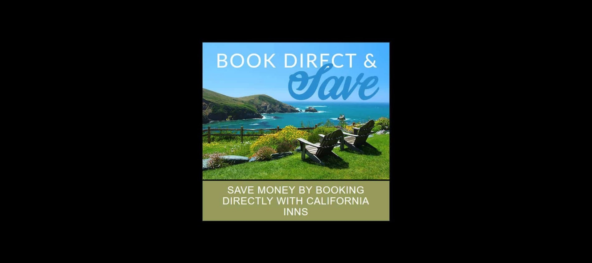 California coastline with rocks and ocean - Book Direct & Save