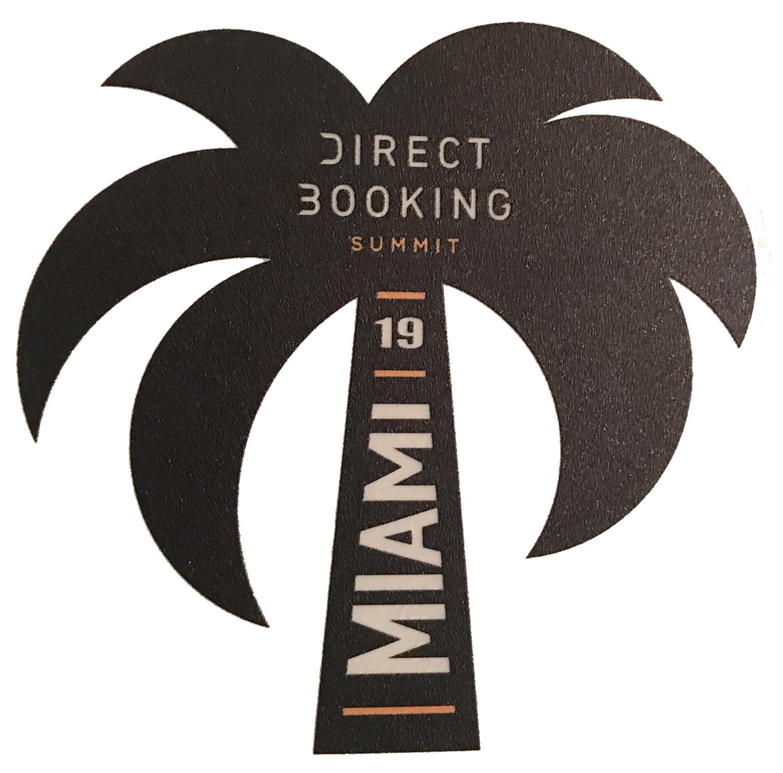 Direct Booking Summit Palm Tree Sticker