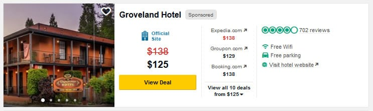 TA Snapshot of Groveland Hotel